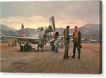 Mission From Taegu Canvas Print by National Guard Bureau