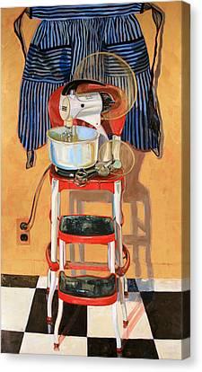 Mixer Maesta Canvas Print by Jennie Traill Schaeffer