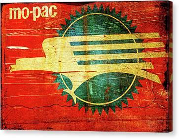Mo-pac Caboose  Canvas Print by Toni Hopper