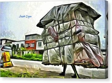 Mobile Home Canvas Print by Leonardo Digenio
