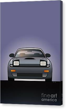 Modern Japanese Icons Series Toyota Celica  Gt-four All-trac Turbo St185 Canvas Print by Monkey Crisis On Mars