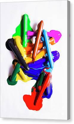 Modern Rainbow Art Canvas Print by Jorgo Photography - Wall Art Gallery