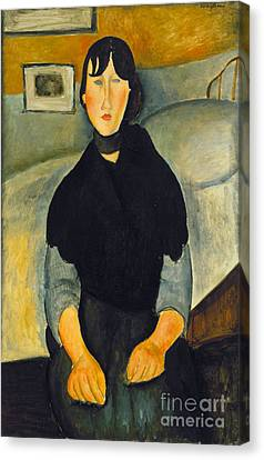 Modigliani: Woman, 1918 Canvas Print by Granger