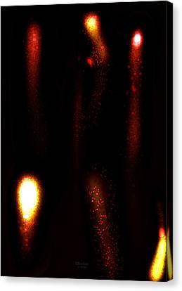 Molten Flow Canvas Print by Scott  Bricker
