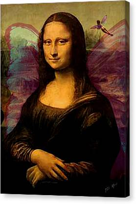 Monalisa The Fairy Canvas Print by Tray Mead