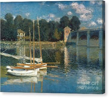 Monet: Argenteuil Canvas Print by Granger
