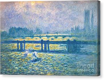Monet: Charing Cross Canvas Print by Granger