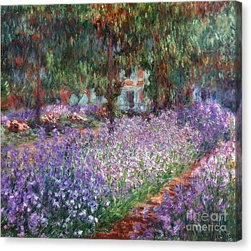 Monet: Giverny, 1900 Canvas Print by Granger
