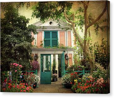 Monet Home Canvas Print by Jessica Jenney