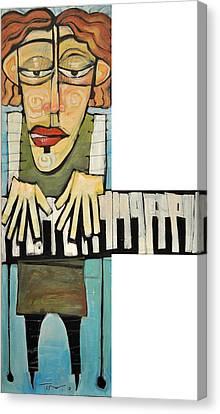 Monsieur Keys Canvas Print by Tim Nyberg