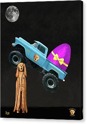 Monster Truck Canvas Print by Eric Kempson