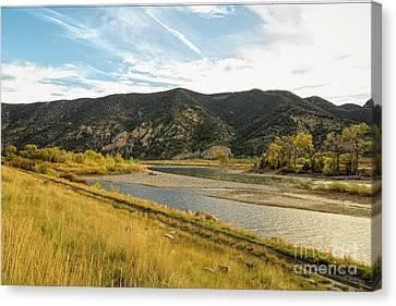 Montana Fishing Hole Canvas Print by Jon Burch Photography