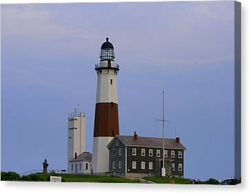 Montauk Lighthouse Canvas Print by Christopher Kirby