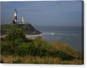 Montauk Point Canvas Print by Christopher Kirby