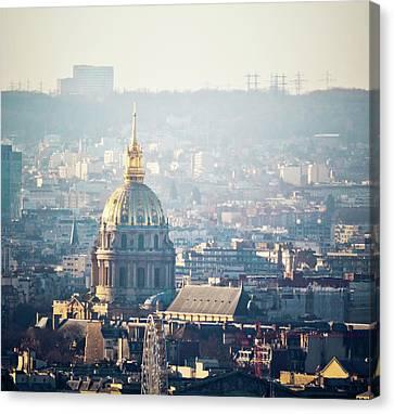 Montmartre Sacre Coeur Canvas Print by By Corsu sur FLICKR