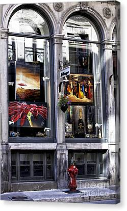Montreal Art Gallery Canvas Print by John Rizzuto