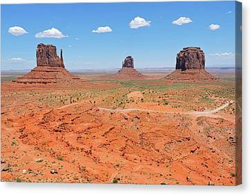 Monument Valley Canvas Print by Connor Beekman