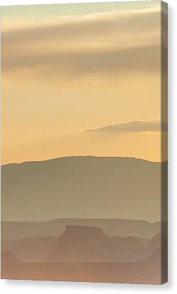 Monument Valley Layers Canvas Print by Az Jackson