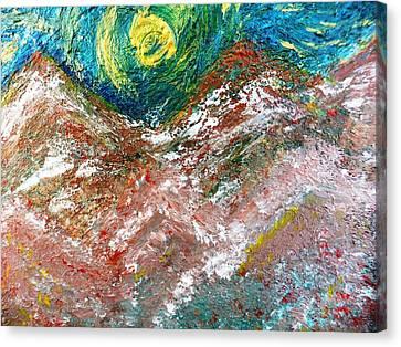 Moon Dream Canvas Print by Amy Drago