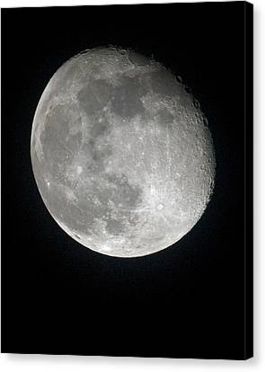 Moon Canvas Print by Gary Langley