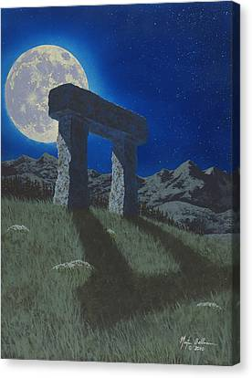 Moon Gate Canvas Print by Martin Bellmann