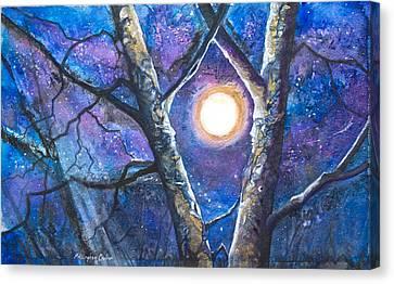Moondance II Canvas Print by Patricia Allingham Carlson