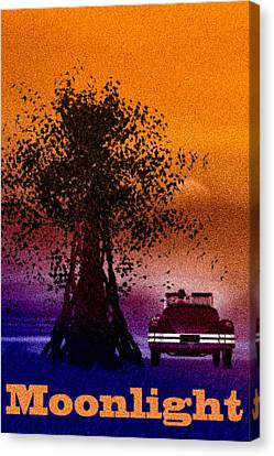 Moonlight Canvas Print by Bob Orsillo