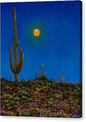 Moonlight Serenade Canvas Print by Johnathan Harris