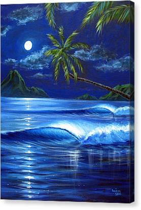 Moonlit Serenade Canvas Print by Patrick Parker