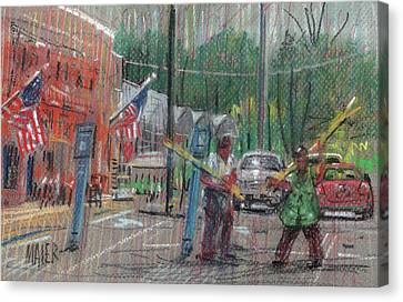 More Doing Canvas Print by Donald Maier