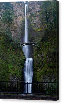 More Multnomah Falls Canvas Print by Todd Kreuter