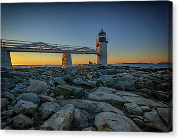 Morning At Marshall Point Canvas Print by Rick Berk