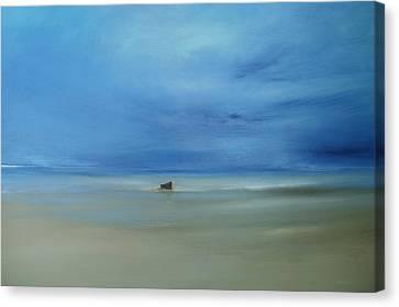 Morning Blues Canvas Print by Michael Marrinan