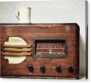 Morning Broadcast Canvas Print by Alison Sherrow I AgedPage