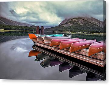Morning Calm Canvas Print by Andrew Soundarajan