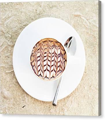 Morning Coffee Canvas Print by Ekaterina Molchanova