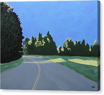 Morning Light Uma Canvas Print by Laurie Breton