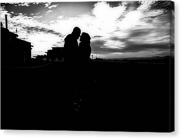 Morning Love Canvas Print by Uros Zunic
