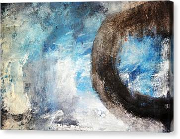Morning Mist I Canvas Print by Andrada Anghel