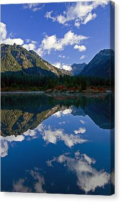 Morning Musings Canvas Print by Mike  Dawson