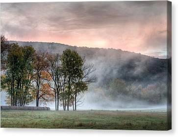 Morning Serenity Canvas Print by James Barber