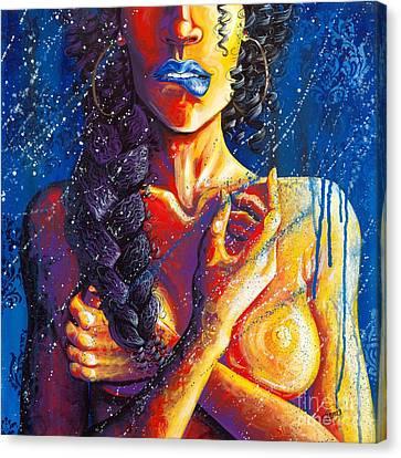 Morning Showers Canvas Print by Aramis Hamer