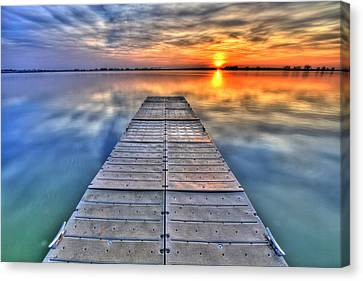 Morning Sky Canvas Print by Scott Mahon