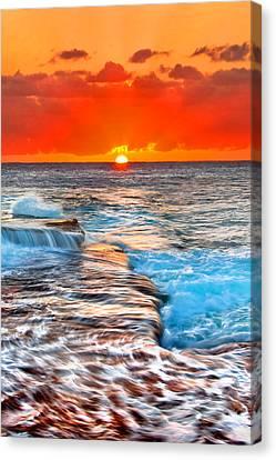Morning Sun Canvas Print by Az Jackson