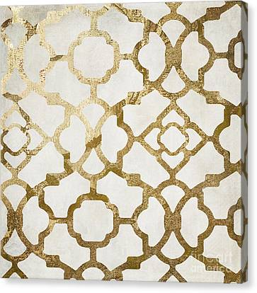 Moroccan Gold I Canvas Print by Mindy Sommers