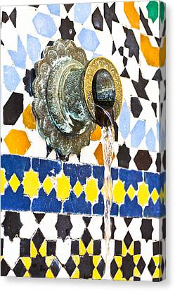 Moroccan Tap Canvas Print by Tom Gowanlock