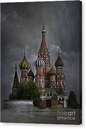 Moscow... Canvas Print by Andrzej Szczerski