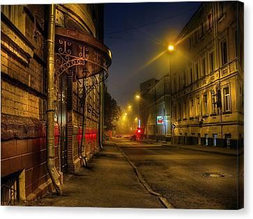 Moscow Steampunk Canvas Print by Alexey Kljatov
