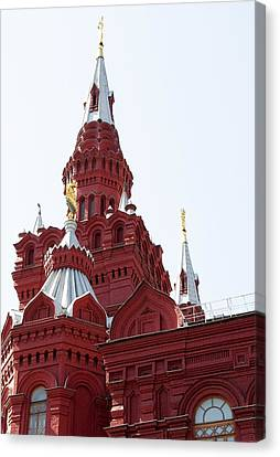 Moscow04 Canvas Print by Svetlana Sewell