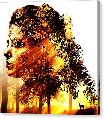 Mother Nature Canvas Print by Marian Voicu